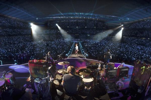Amazon Music transmitirá un concierto de la nueva gira de Coldplay