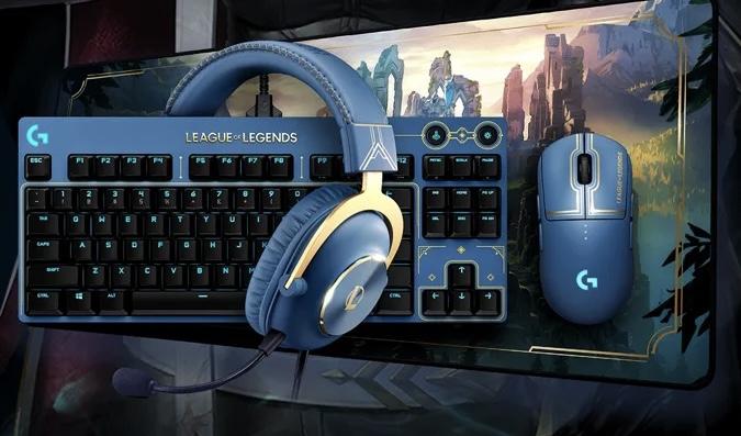 Logitech G presenta periféricos oficiales de League of Legends